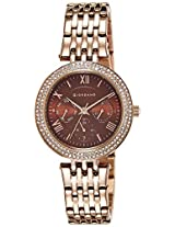 Giordano Analog Brown Dial Women's Watch - 2716-55