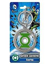 Dc Comics Green Lantern Logo Pewter Key Ring (With Gift Box)