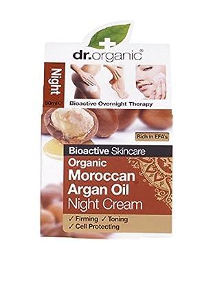 Dr Organic Crema Notte Moroccan Argan Oil 50 ml