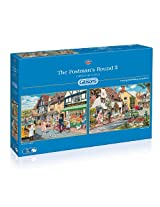 Gibsons The Postman's Round 2 Jigsaw Puzzle (2 x 500-Piece)