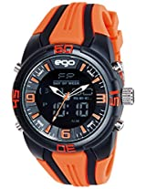 Maxima Ego Analog-Digital Multi-Color Dial Unisex Watch - E-33190PPAN