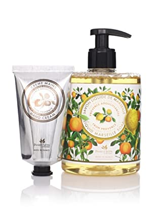 Panier des Sens Soothing Oils from Provence Liquid Soap and Hand Cream, Set of 2