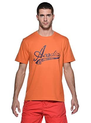 Timberland Camiseta New England Location (Naranja)