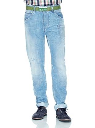 Salsa Pantalón Slim (Azul)