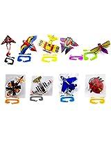 Micro Kite Mini Mylar Kite, Styles Vary, 1 Pack