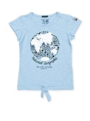 National Geographic Camiseta Worldlife (Azul Claro)