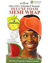 Donna Deluxe Foam Mesh Wrap, Olive Oil + Vitamin E Treated #22007 Red