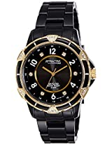 Q&Q Attractive Analog Black Dial Women's Watch - DA57J004Y