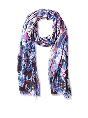 Movement by Juma Women's Icy Print Scarf, Blue