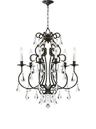 Gold Coast Lighting 6-Light Ashton Chandelier, English Bronze