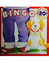 B I N G O ~ Sing-Along Book & Music Cd with 20 Songs Bingo B-I-N-G-O
