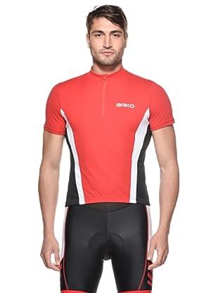 Briko Evolution Funktionsshirt Man (rot schwarz weiß)