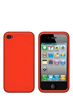Blautel Silikon Case für iPhone 4 (Orange)