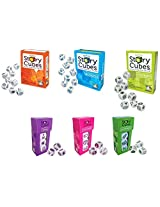 Rorys Story Cubes Original, Actions, Voyages, Prehistoria, Enchanted, Clues (Set Of 6)
