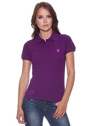 Polo Club Poloshirt Elmore (Violett)