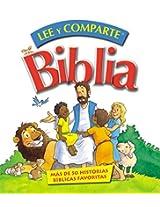 Biblia Lee y comparte: para manos pequeñas (Spanish Edition)