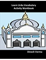 Learn Urdu Vocabulary Activity Workbook