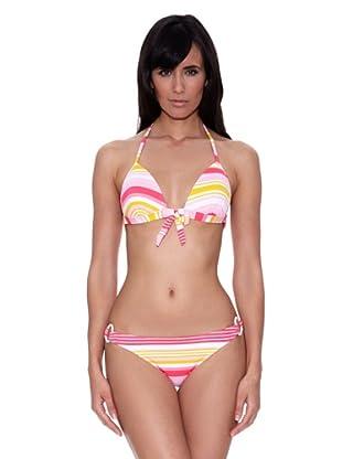 Bikini Natalina (Amarillo / Fucsia)