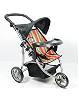 The New York Doll Collection Doll Jogging Stroller for Ages: 2+