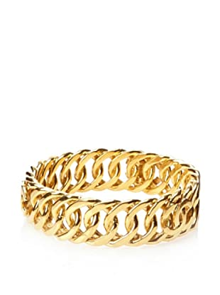 CHANEL Gold-Plated Bangle Bracelet