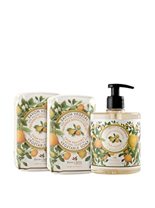 Panier des Sens 3-Piece Soothing Oils from Provence Liquid Soap and Vegetable Soaps