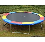 12' Trampoline Safety Pad / Spring Cover - Multi Color