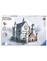 Ravensburger 3D Puzzles Neuschwanstein Castle, Multi Color (216 Pieces)