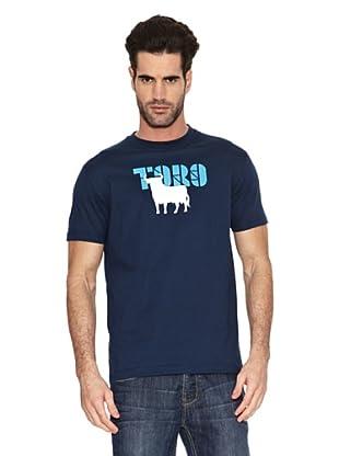Toro Camiseta Print Toro (Azul Marino)