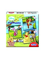 Frank Winnie The Pooh First Educational Puzzle Set - Green