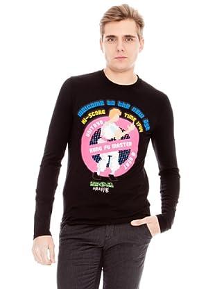 Unitryb Camiseta Manga Larga (Negro)