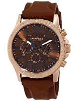Caravelle New York  Sport Analog Brown Dial Men's Watch - 44A102