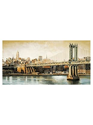 ArtopWeb Panel de Madera Daniels Manhattan Bridge Way