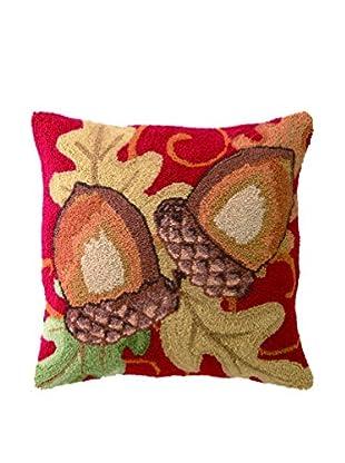 Peking Handicraft Acorns Throw Pillow, Multi
