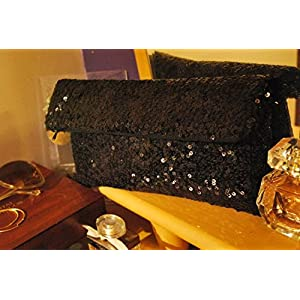 August by Ritu Cipy Sequined Convertible Clutch