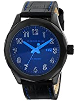 Android Men's AD488ABU Euxine 45 Ion-Plating Black Bezel Blue Lens Watch