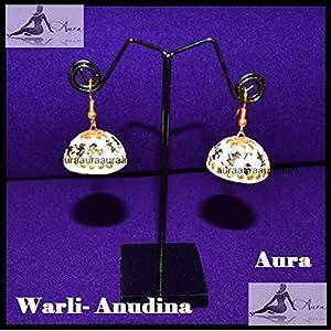 AUrA-EArTH Warli Anudina Jhumkas