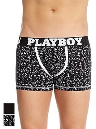 Playboy 2tlg. Set Boxershorts Print