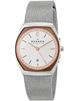 Skagen End-of-Season Asta Analog Silver Dial Women's Watch - SKW2051