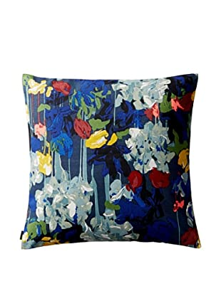 Kate Spade Saturday Painted Floral Canvas Envelope Pillow Cover