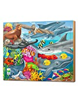 The Learning Journey Lift and Discover Jigsaw Puzzle Creatures of the Sea, Multi Color (48 Pieces)