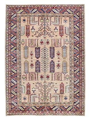 Bashian Rugs Fine Kazak Rug, Beige, 6' x 8' 4