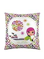 Robin Zingone Funda de Cojín Coco (Multicolor)