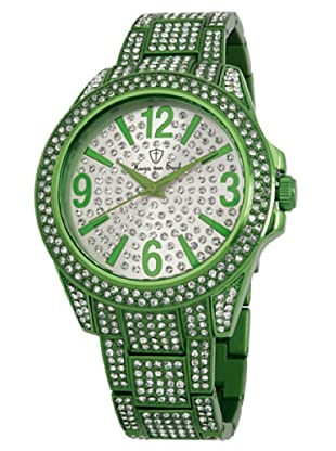 Hugo von Eyck Quarzuhr Extraordinary silber/grün