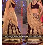 Shilpa Shetty Bollywood Replica Lehenga By Arisha 241