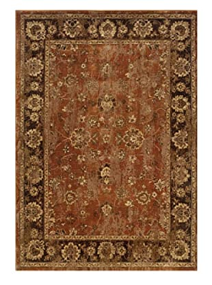 Granville Rugs Alahambra Rug (Copper/Brown)