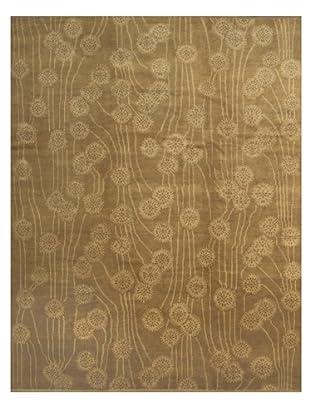 French Accents Art Nouveau Carpet (Gold)