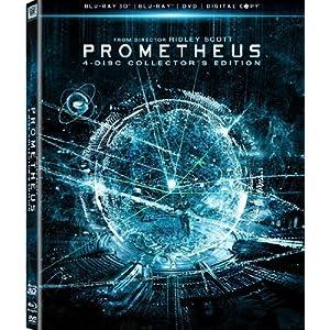 Prometheus 3D 4 Disc Collectors Edition