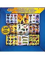 1,000 Justice League Stickers ~ Boxed Stickers By The Roll (1,000 Stickers) Batman, Superman, Wonder Woman, Captain America, Green Lantern And More!