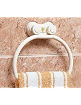 Wall Mount Suction Towel Ring Holder BATHROOM ACCESSORY
