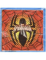 Marvel Ultimate Spiderman Two Ply Paper Napkins, Multi Color (33 X 33cm)